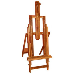 Studio Easel Teak wood